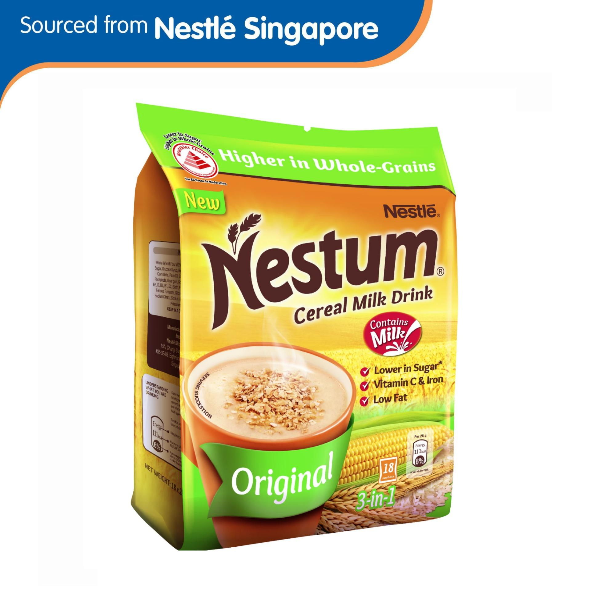 Nestum 3in1 Cereal Drink Original 18 X 28g By Nestle Official Store.