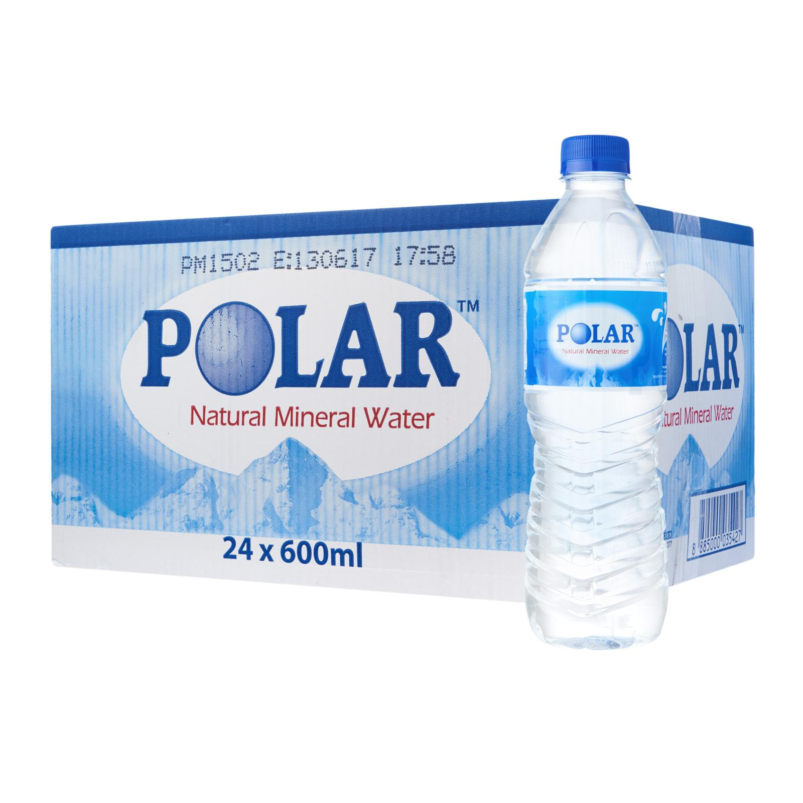 Polar Natural Mineral Water - Case