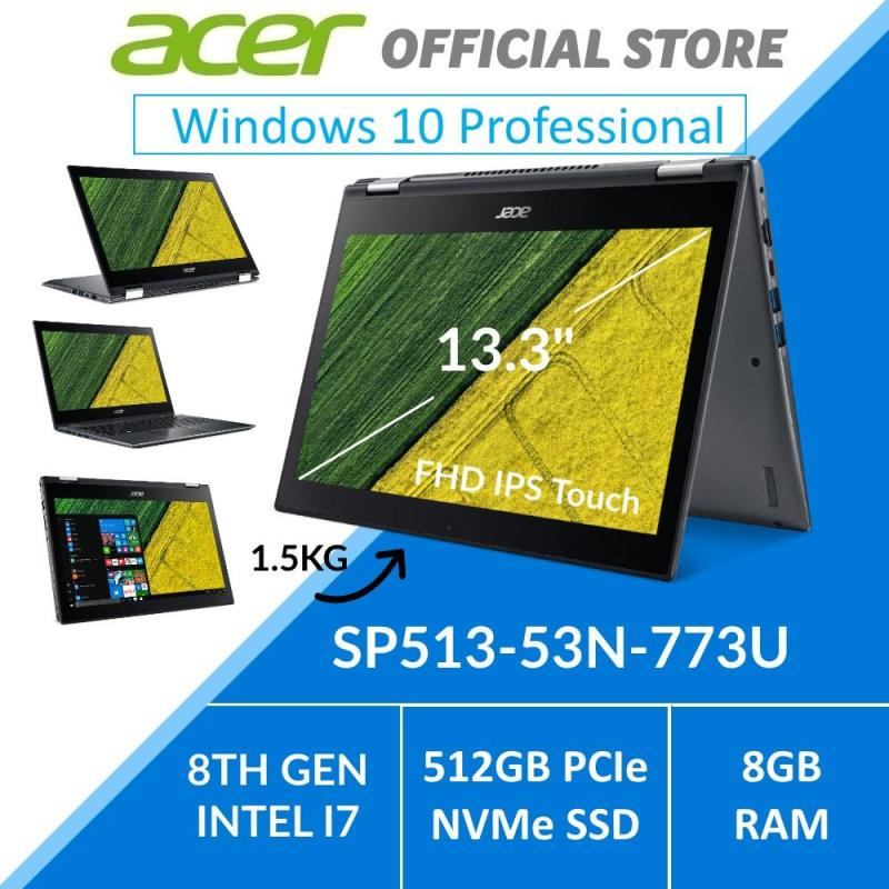 Acer Spin 5 SP513-53N-773U 13.3-Inch Intel i7 Convertible Laptop - Windows 10 Pro