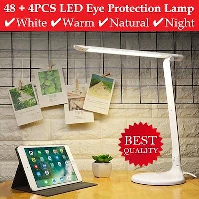 Eye Protection LED Table Lamp / Cold / Warm / Natural / Night / Brightness Adjustable