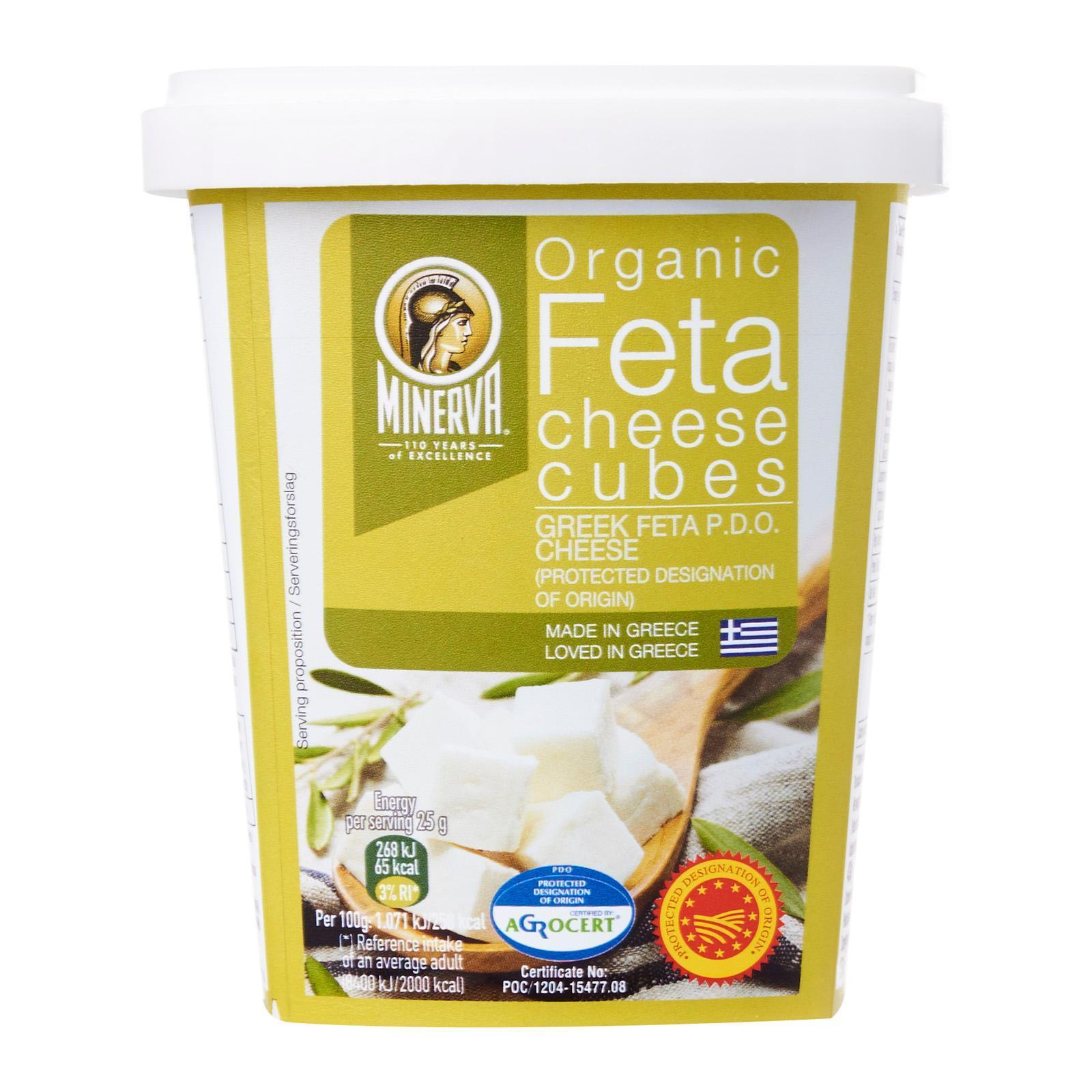 Minerva Organic Feta Cheese In Tub By Redmart.