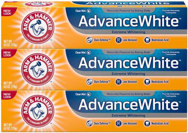 Buy Arm & Hammer Advance White Extreme Whitening Toothpaste (3 PACK) Singapore