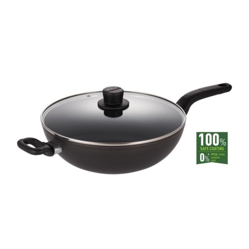 Tefal Intense cook wok frypan 32cm H91494 Singapore