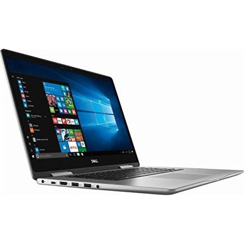 Dell Inspiron Premium 7000 Series 2 in 1 laptop, 15.6  FHD touch Screen, 8th Gen Intel Core i5-8250u, 512GB SSD, 8GB DDR4, Backlit keyboard, Wireless-AC, HDMI, USB C, Bluetooth, MaxxAudio Pro, Win 10