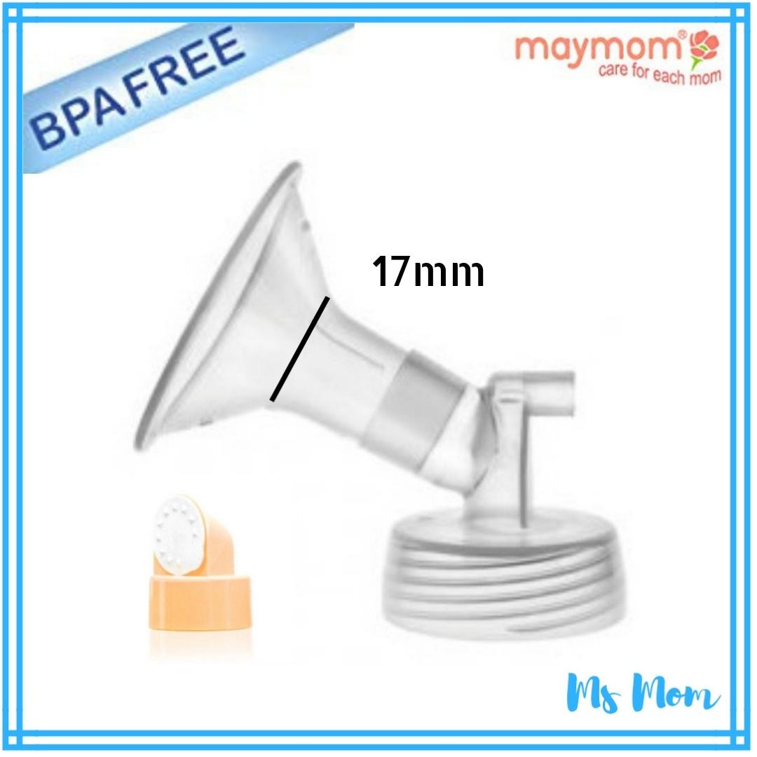 Maymom 17mm Wide Neck Flange With Valve By Ms Mom.