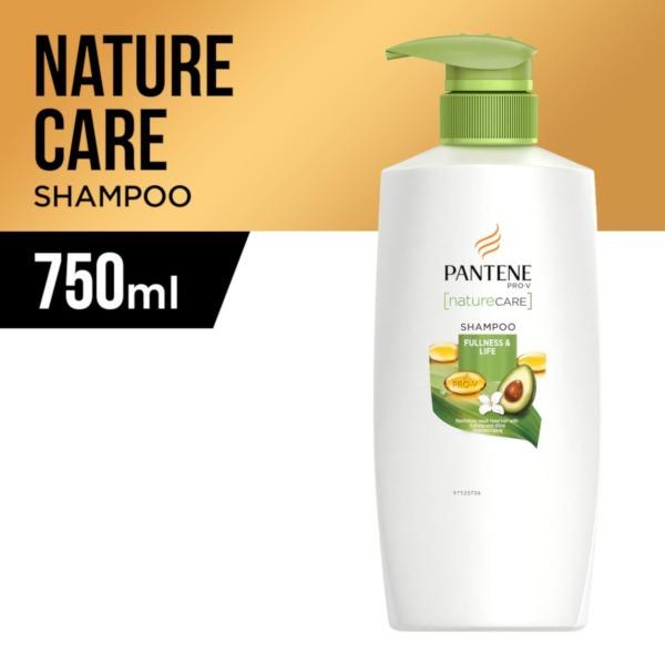 Buy Pantene Shampoo Nature Care Fullness & Life 750ml Singapore