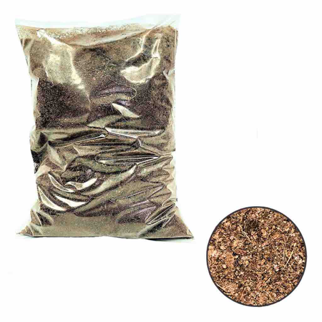 Premium Cocopeat (8 Ltr) / Coco / Coconut Peat / Coir Pith (weighs around 1 KG)