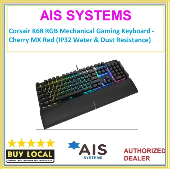 Corsair K60 RGB PRO SE Mechanical Gaming Keyboard - Cherry VIOLA Singapore
