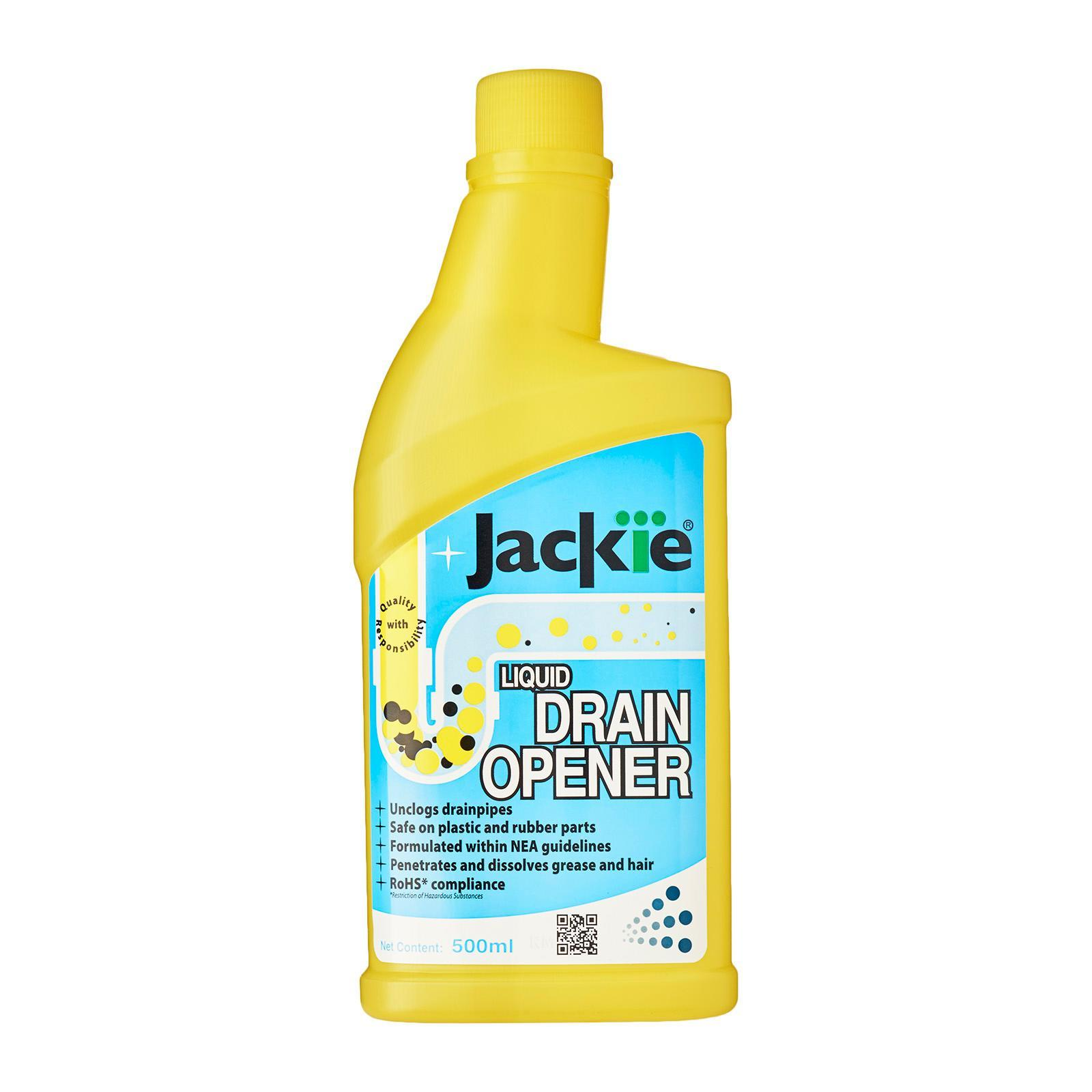 Jackie Liquid Drain Opener By Redmart.