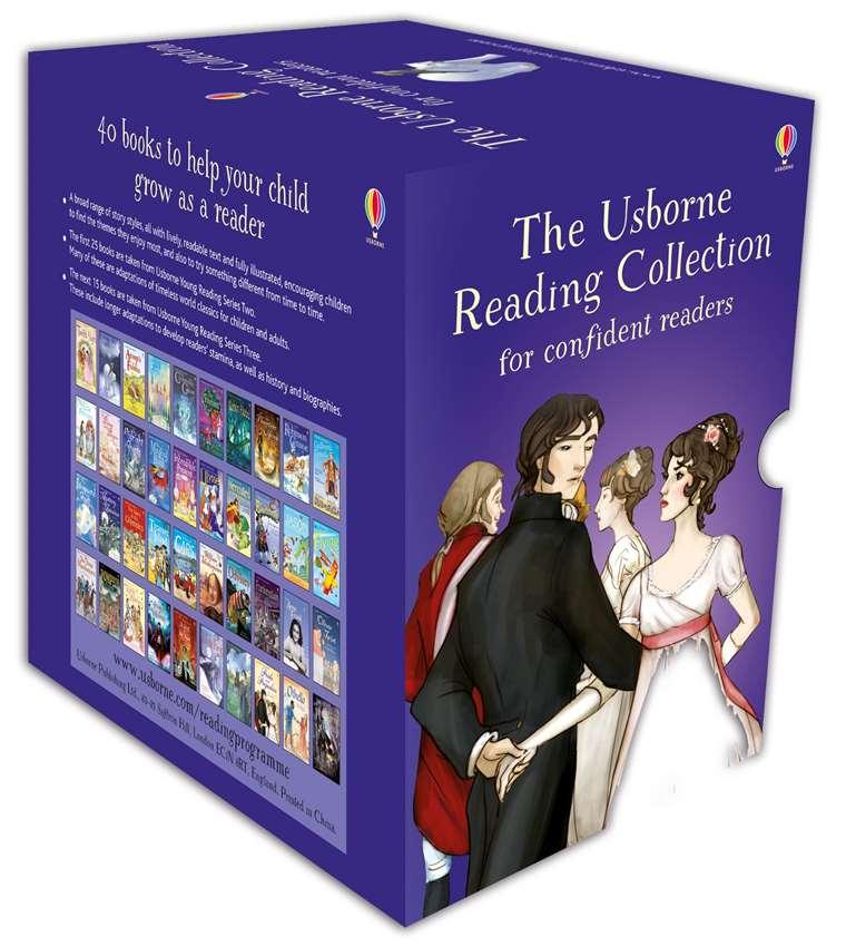 [SG SELLER] [40 BOOKS] The Usborne Reading Collection for Confident Readers - My Fourth Reading Library