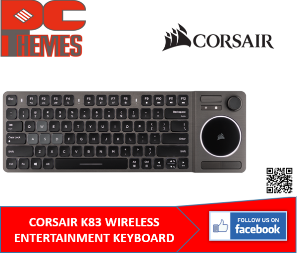 CORSAIR K83 WIRELESS ENTERTAINMENT KEYBOARD Singapore