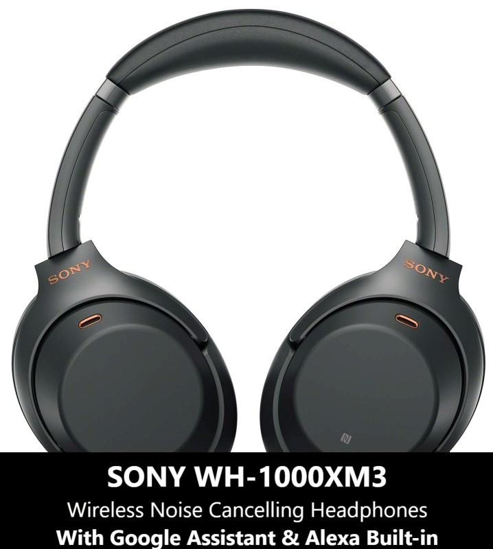{Ready Stocks} Sony WH-1000XM3 Wireless Headphone Black/Silver Singapore