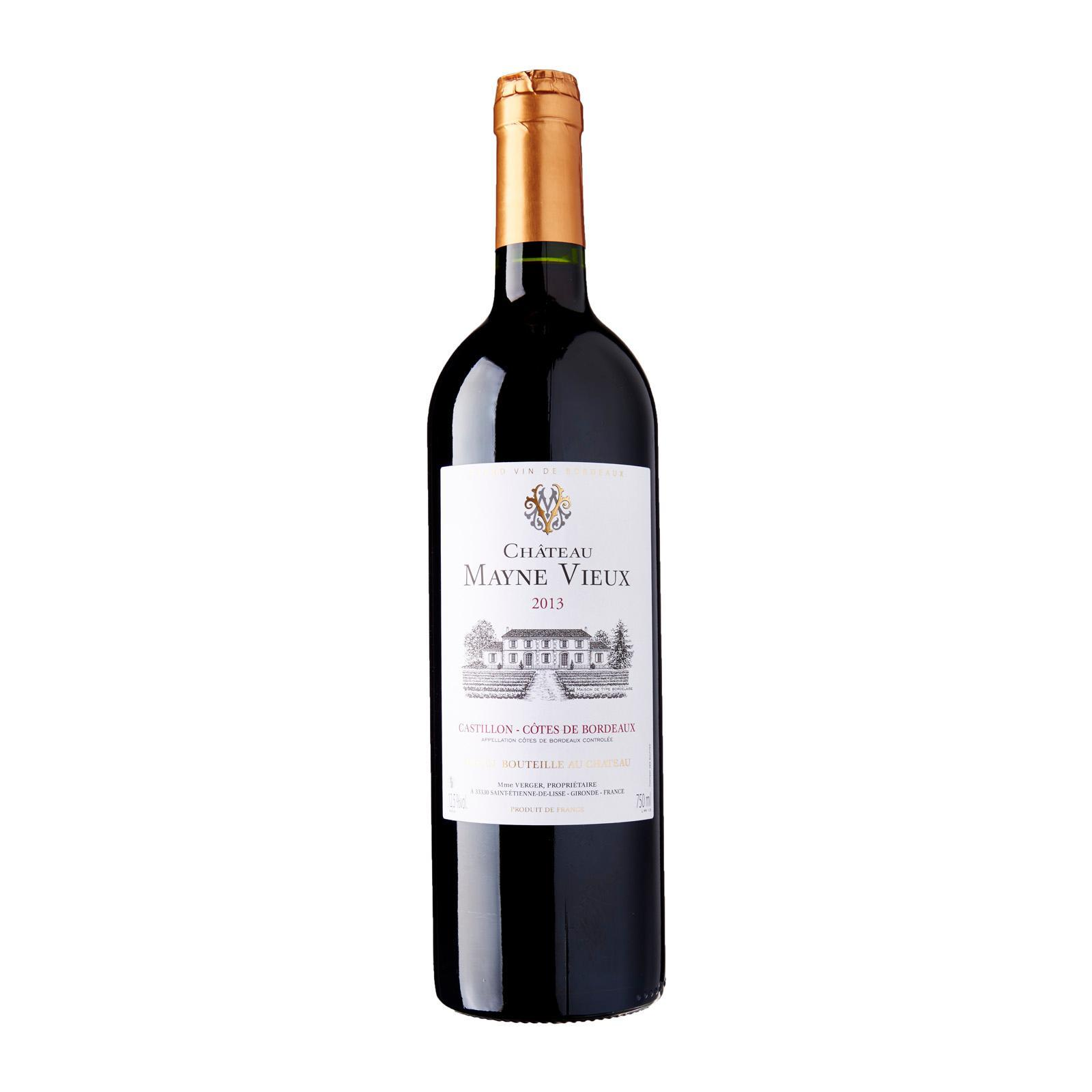 Chateau Mayne Vieux Bordeaux Red Wine - By V Wine Studio