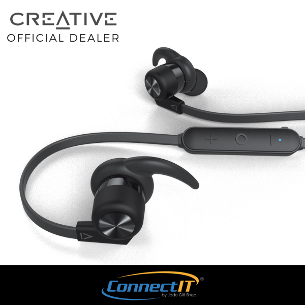 Creative Outlier Active Wireless Sweat-proof In-Ear, Light Weight And Long Battery Life And Block Out Distraction With Super Superior Audio And Comfortable Earbuds Fit In Ear [ 1 Year Local Warranty ] Singapore