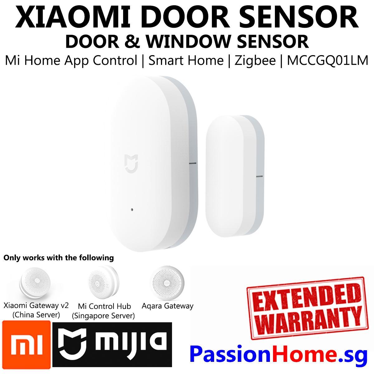 Xiaomi Window and Door Smart Sensor - Xiaomi Mijia Smart Home Automation -  Zigbee - (Works with Mi Home and Aqara Home App / HomeKit if used with