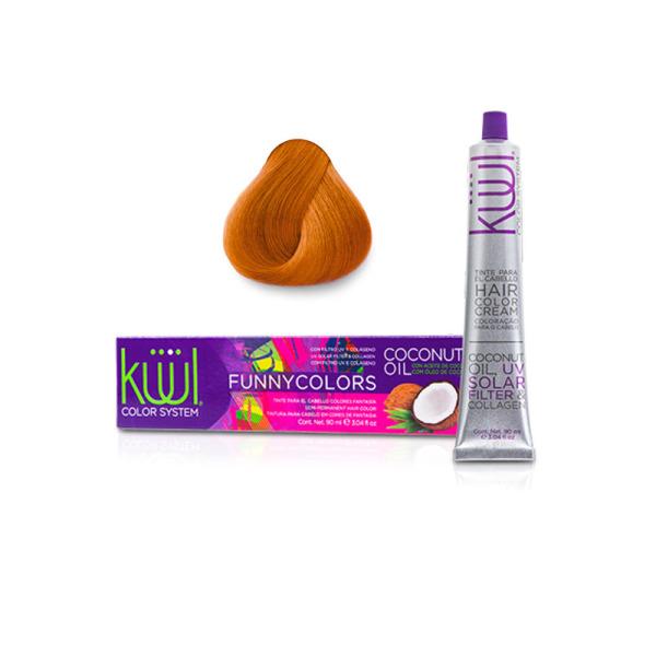Buy Kuul Semi Permanent Hair Color 90ml - Orange Singapore