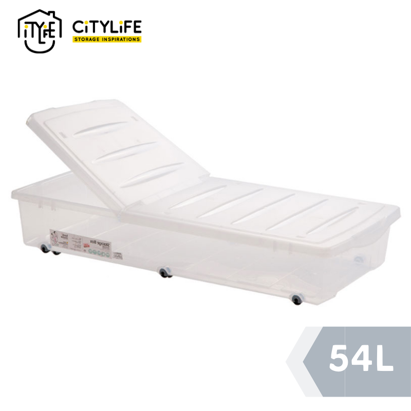 Citylife - Underbed Storage With Wheels 54L