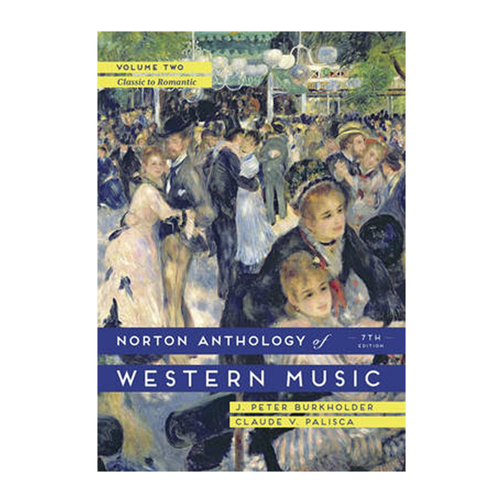 The Norton Anthology Of Western Music (Paperback)