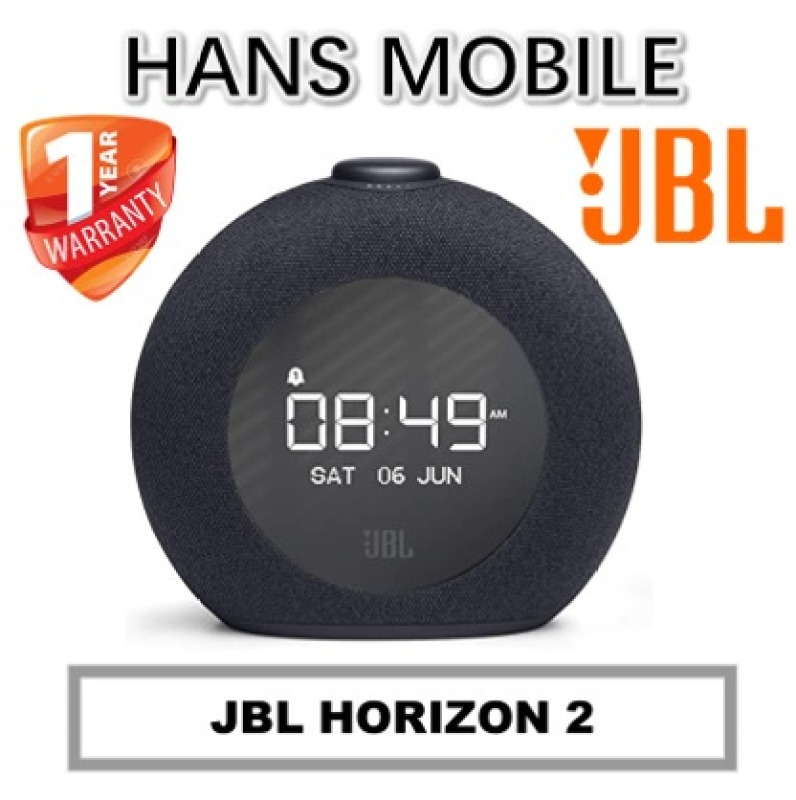 JBL HORIZON 2 CLOCK RADIO BLUETOOTH SPEAKER - HANS MOBILE - 1 YEAR OFFICIAL WARRANTY Singapore