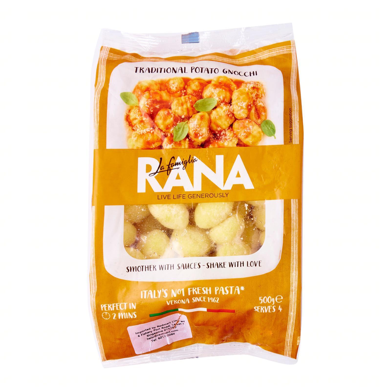 Giovanni Rana Potato Gnocchi Ready To Cook By Redmart.