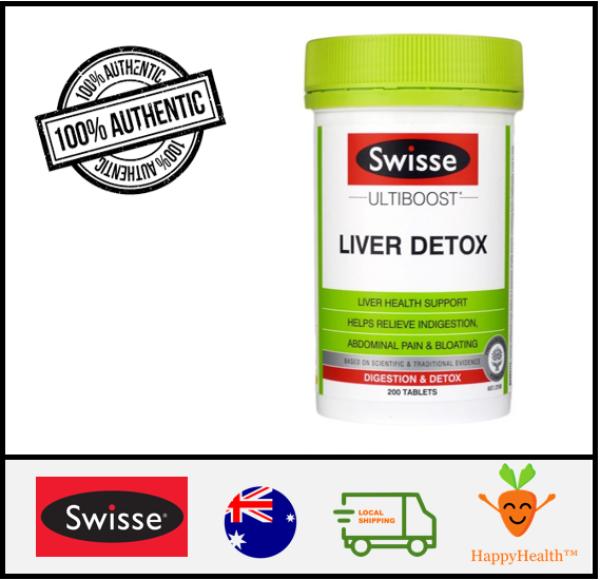 Buy [HappyHealth] - Swisse Liver Detox 200 Tablets Singapore
