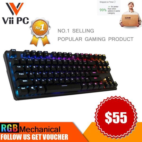 Tecware Phantom 87 Key Mechanical Keyboard, RGB led, Outemu Switch
