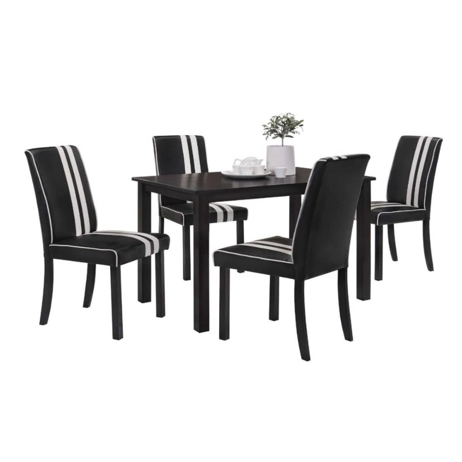 LIVING MALL_Polly Dining Set_1+4_FREE DELIVERY