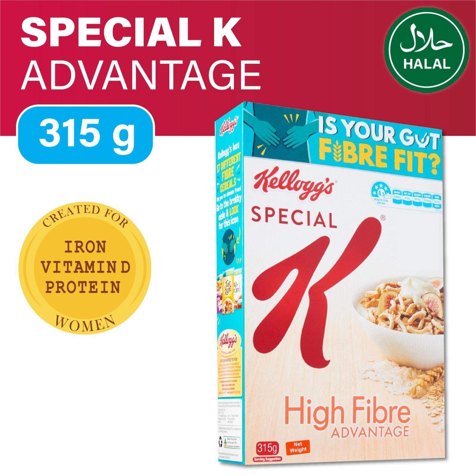 Kellogg's Special K Advantage Hi Fibre Breakfast Cereal