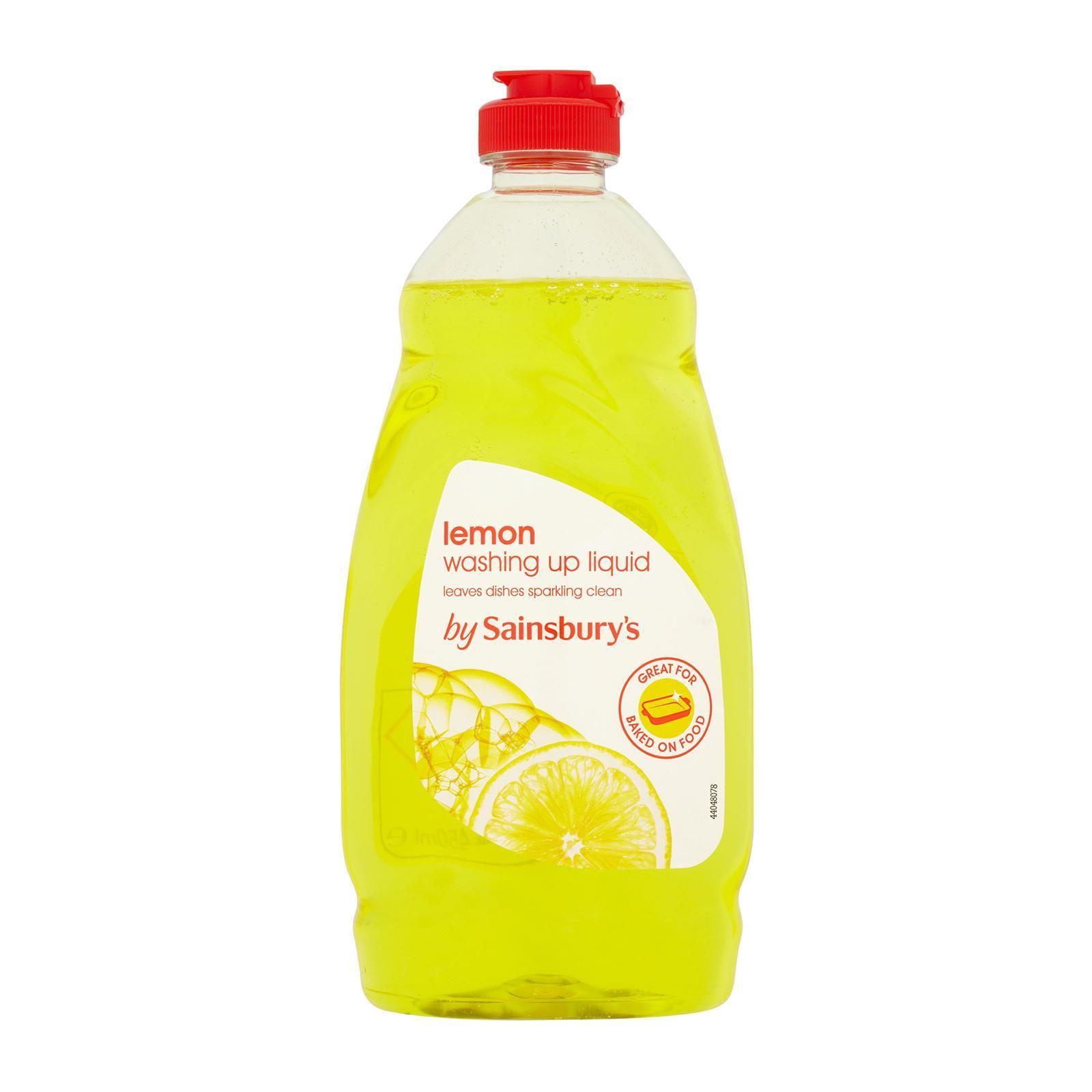 Sainsbury's Washing Up Liquid Lemon
