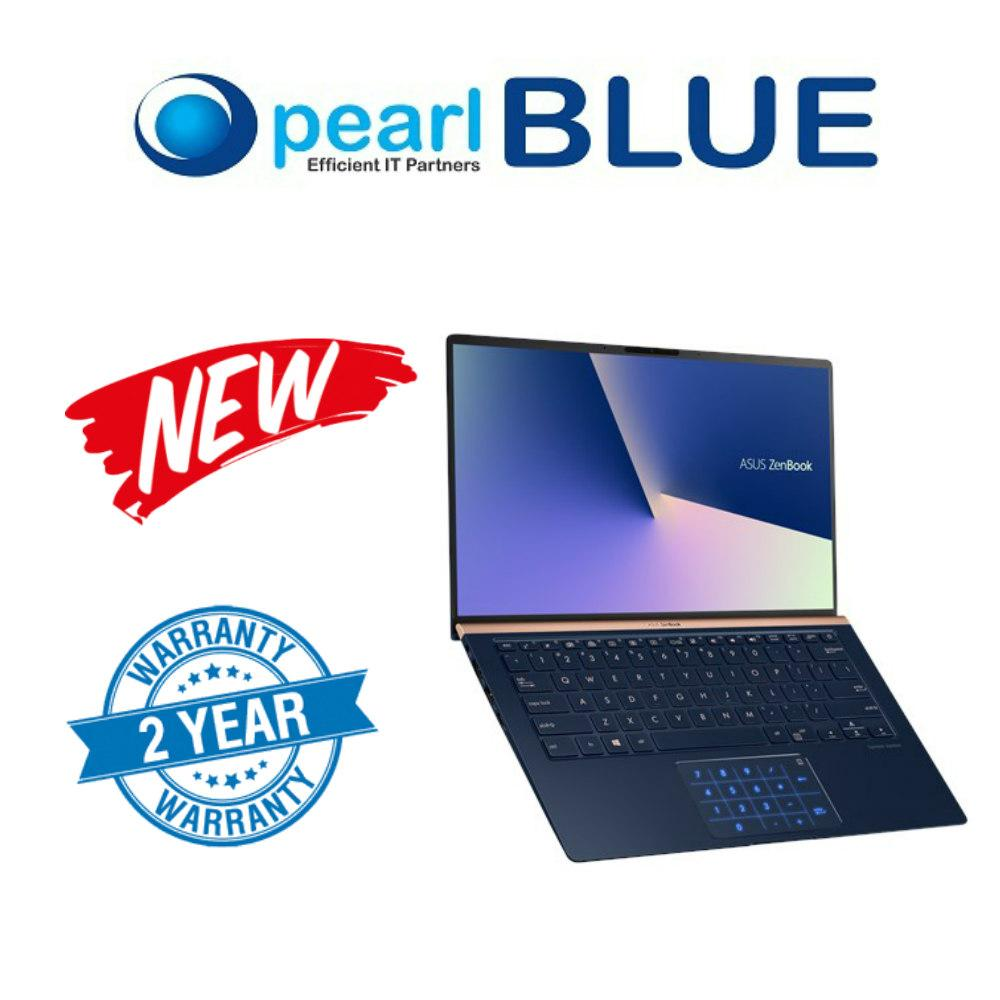 ASUS ZenBook 14 UX433FN-A5021T Blue ,  i7-8565U (1.8 GHz Turbo up to 4.6 GHz) , 16GB LPDDR3  , PCIEG3x2 NVME 512G M.2 SSD , NVIDIA GeForce MX150