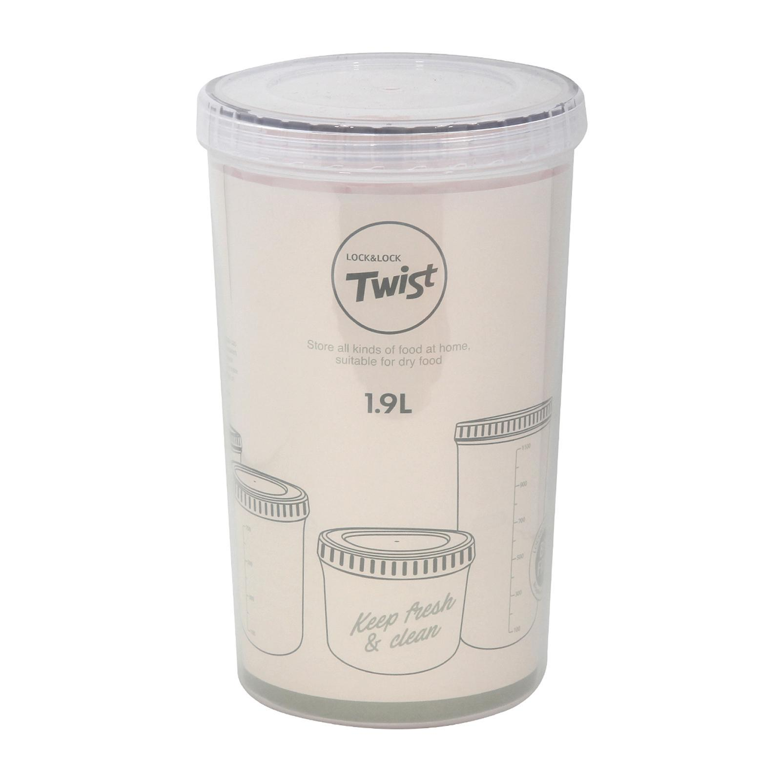 Lock & Lock Easy Toc Food Container 2.0L White