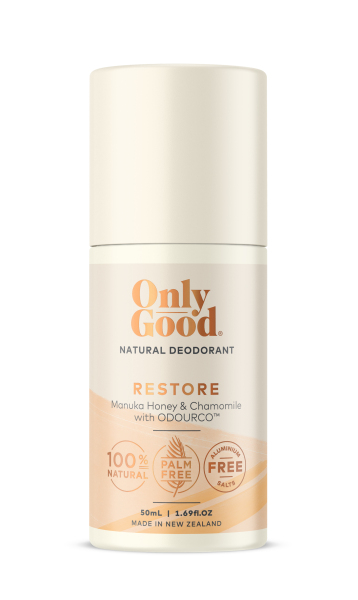 Buy Only Good Restore Natural Deodorant Aluminium Free 50ml - by Optimo Foods Singapore