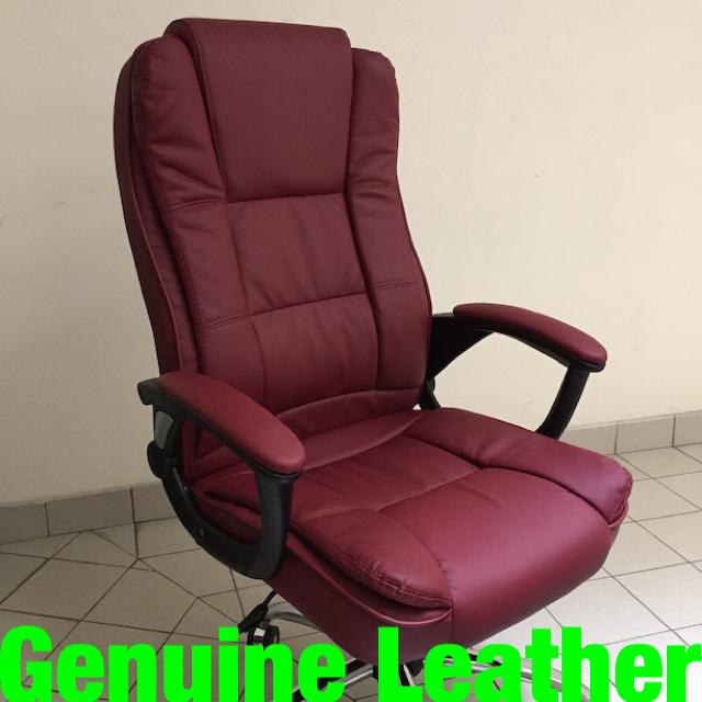 UMD Genuine Leather Boss Chair Director Chair (3 models to choose:338/501/504 Free Installation/1 Year warranty)