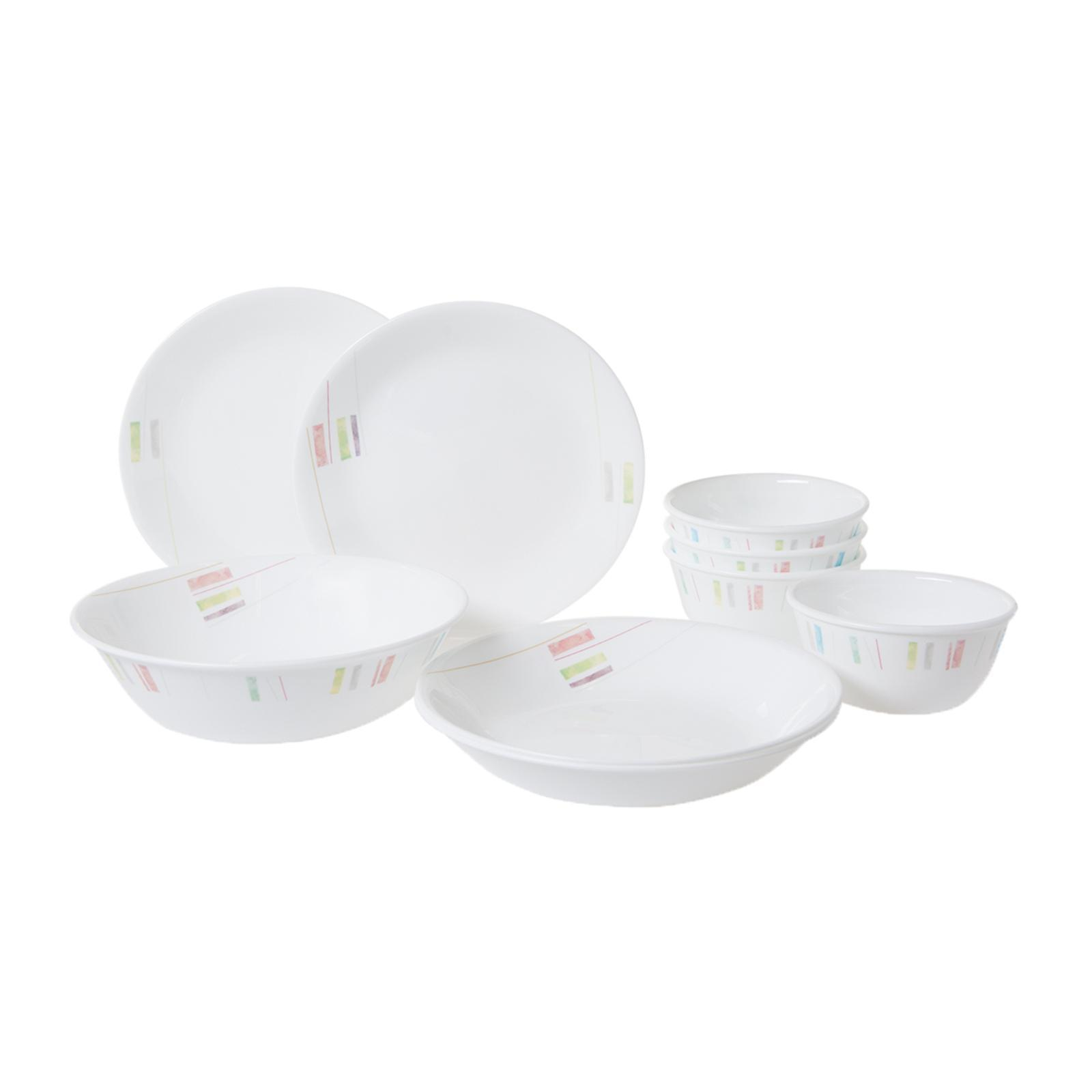 Corelle 9Pc Dinner Set (Design: Handicraft)