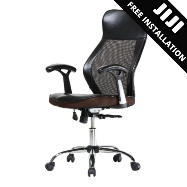 JIJI General Manager Office Chair (Free Installation) - Home Office Chair / Office chair/Study chair/Gaming chair/Ergonomic/ Free 12 Months Warranty (SG) Singapore