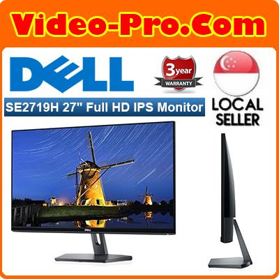 Dell SE2719H 27Inch Full HD (1920 x 1080) 16:9 Widescreen IPS Monitor (HDMI & VGA Port)
