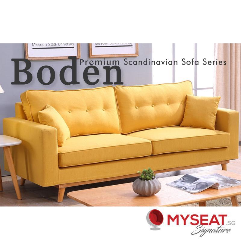 MYSEAT.sg Boden Scandinavian Sofa (Colour Customisation) - PREORDER