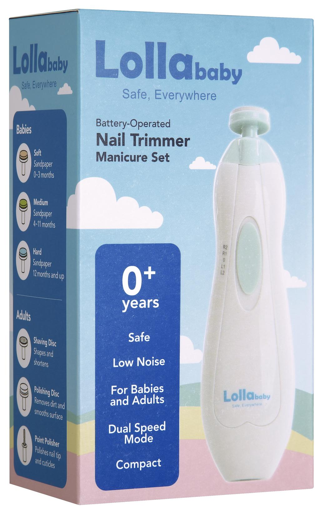 Lollababy Nail Trimmer Manicure Set By Lollababy Singapore.