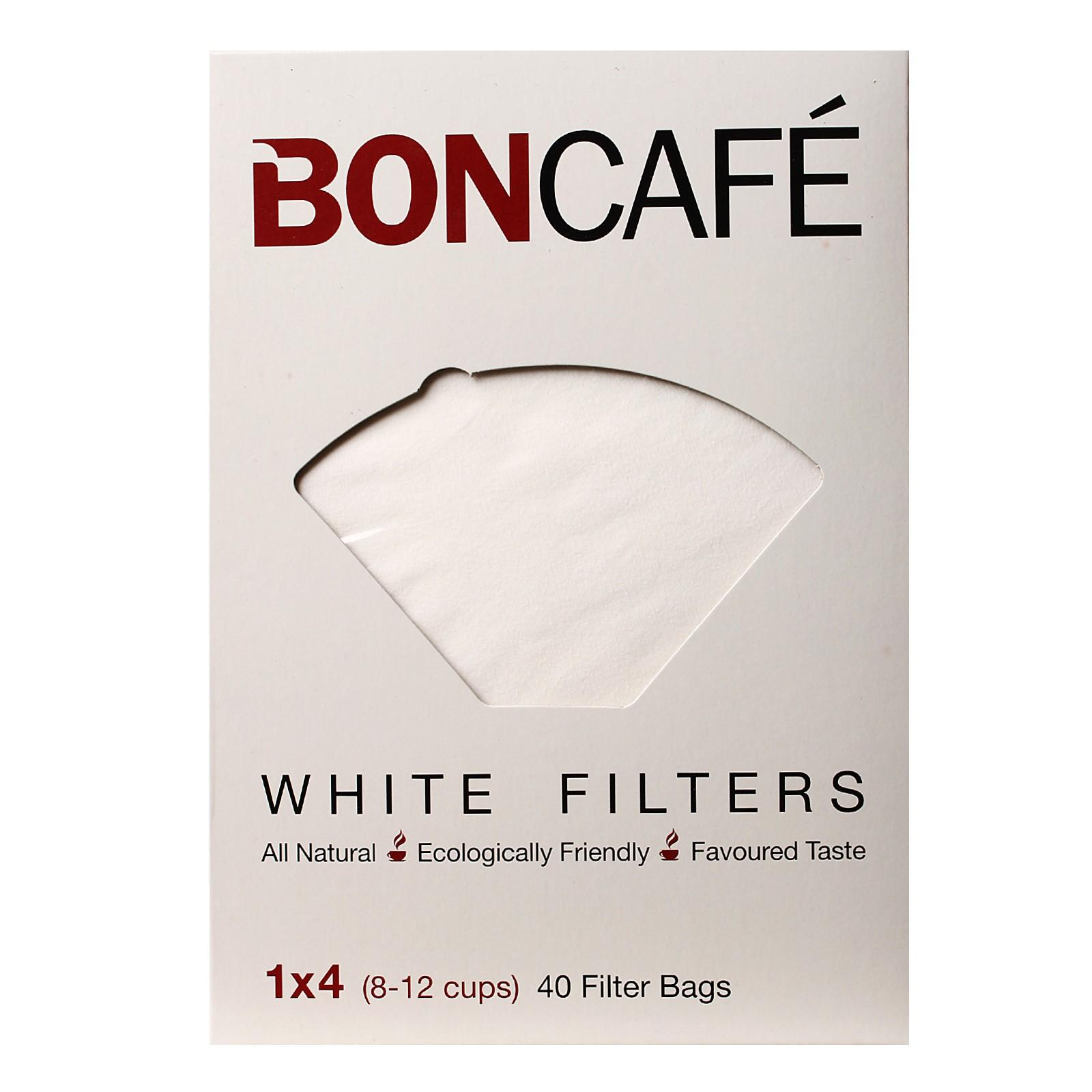 Boncafe White Filters (8-12 Cups)