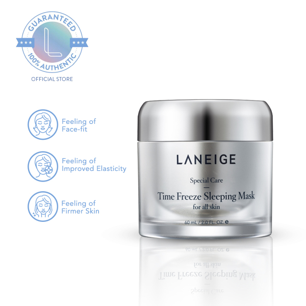 Buy LANEIGE Time Freeze Firming Sleeping Mask 60ml - Overnight Sleeping Mask, Firming Mask Suitable for all Skin Types Singapore