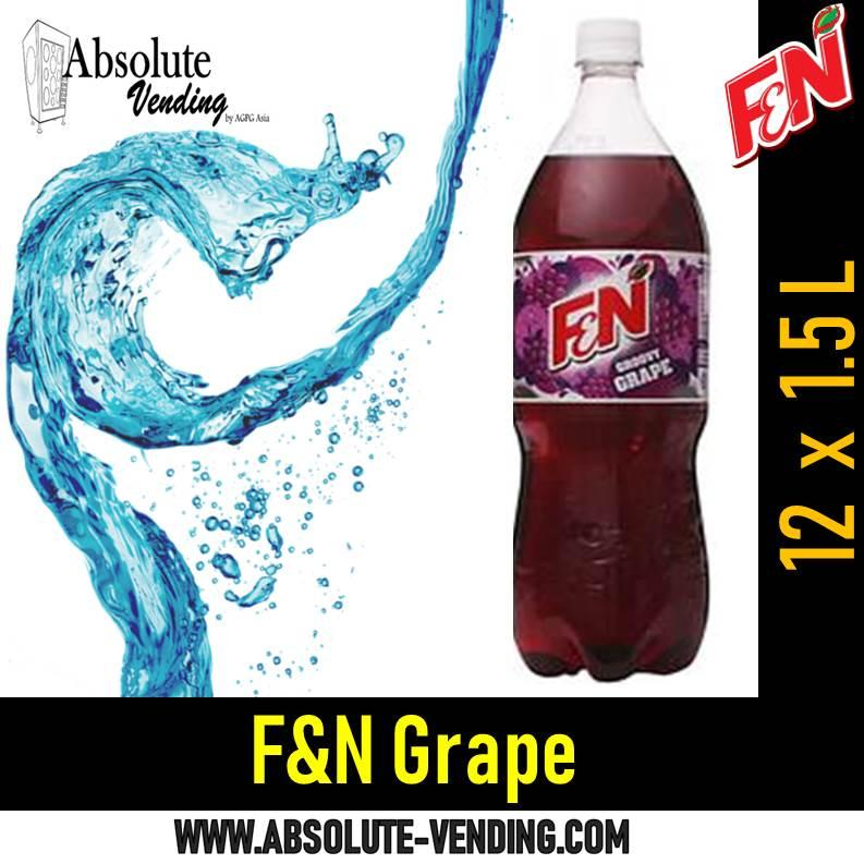 F&n Grape (1.5l Bottle) By Absolutevending-Drinkrus.