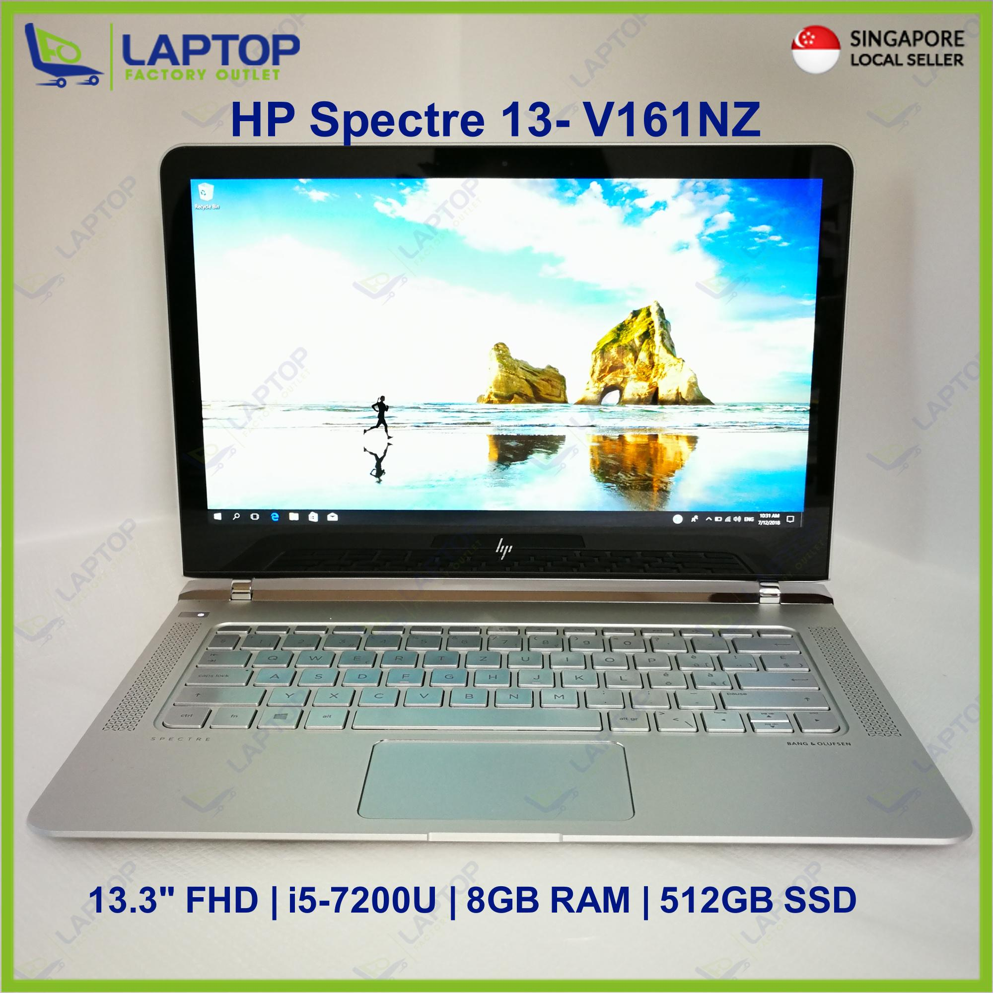 HP SPECTRE 13-V161NZ (i5-7/8GB/512GB) @Thin & Light @ Premium Preowned [Refurbished]