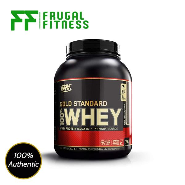 Buy [FAST SHIPPING] Optimum Nutrition Gold Standard 100% Whey Protein Powder 5lbs [Various Flavors] Singapore