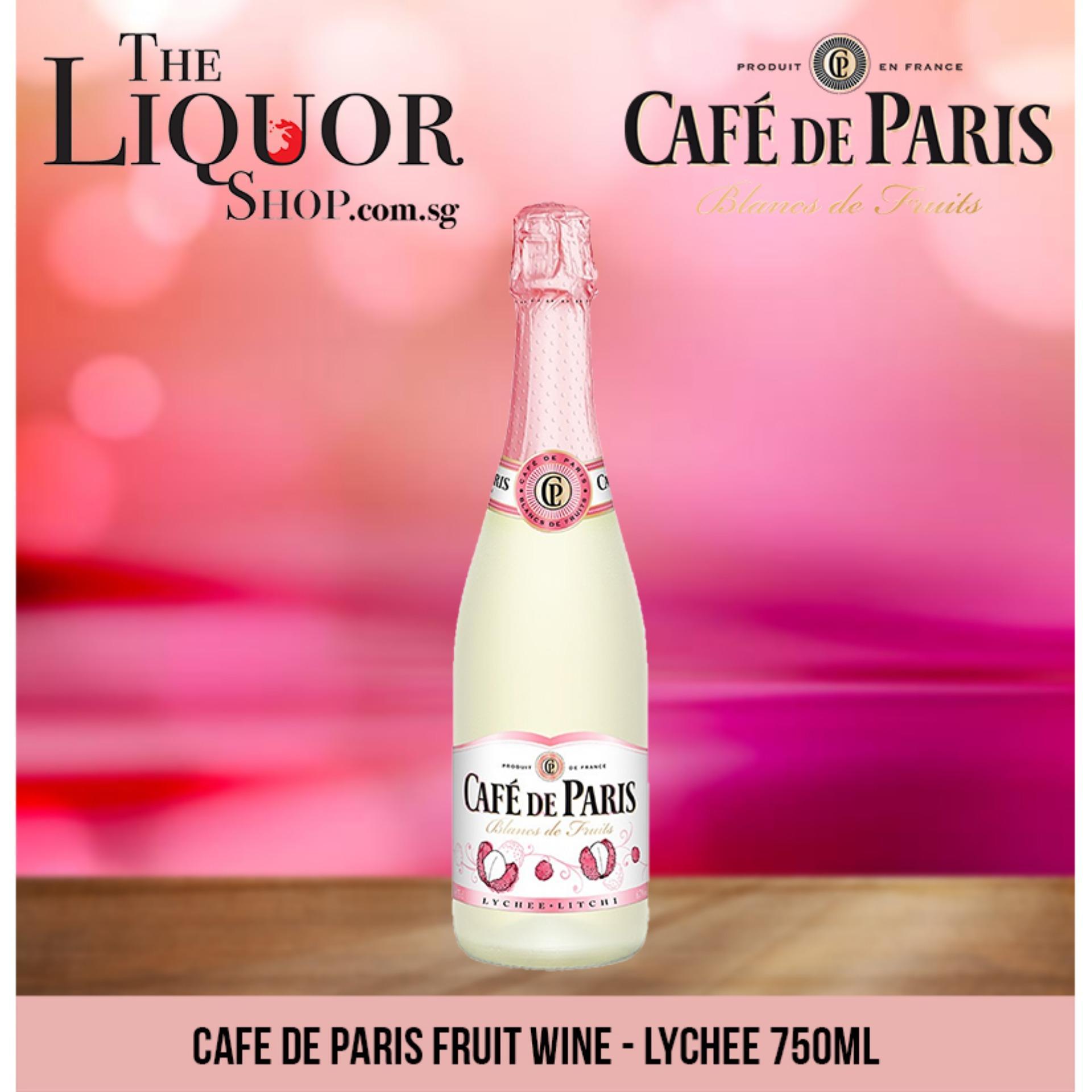 Cafe De Paris Fruit Wine - Lychee 750ml By The Liquor Shop.