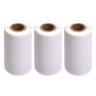 PAPERANG 3 Rolls Direct Thermal Labels Self-Adhesive Thermal Paper Roll BPA-Free 2x3 Inch(48 1 Labels Roll) Compatible with PAPERANG P1(S) P2(S) Pocket Thermal Printer thumbnail