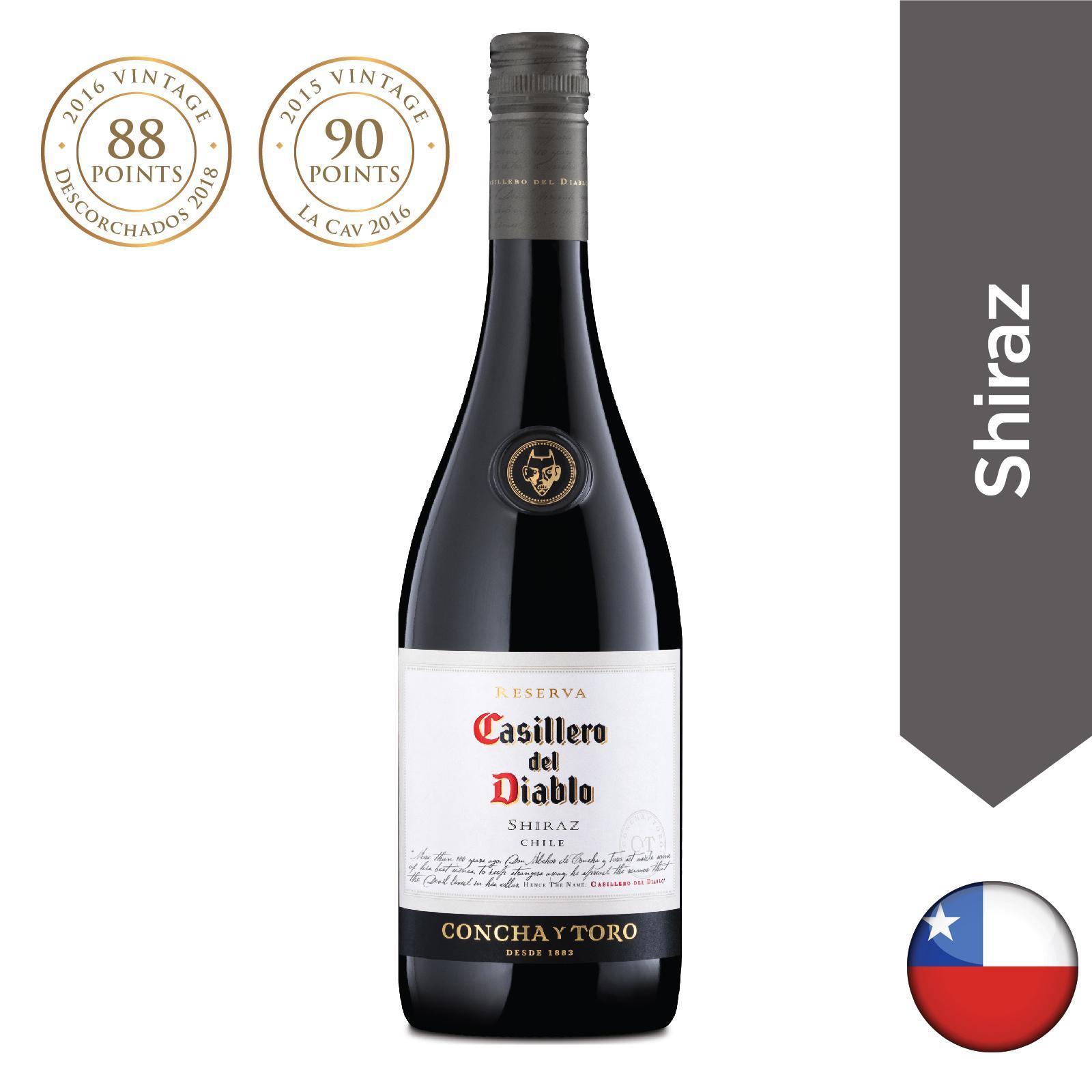 Casillero Del Diablo Reserva Red Wine - Shiraz