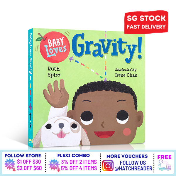 [SG Stock] Baby Loves Gravity! Learning book for children toddlers kids baby 2 3 4 5 6 years old early eduaction preschool