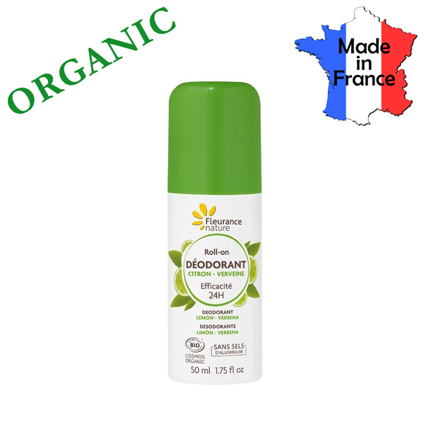 Buy Organic Deodorant - No Aluminium Salts - Made in France - by FLEURANCE NATURE Singapore
