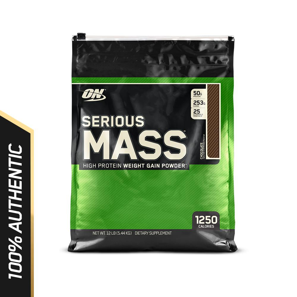 Optimum Nutrition - Serious Mass (12 Lbs) By Nutrition Pro.