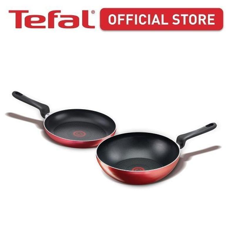 Tefal Red Star Collection Frypan  Wokpan Set CWS266 Singapore